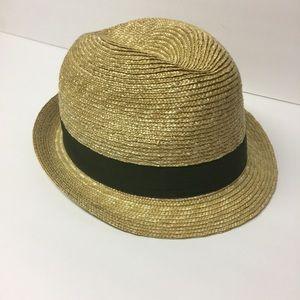 Gap Fedora Straw Hat M/L